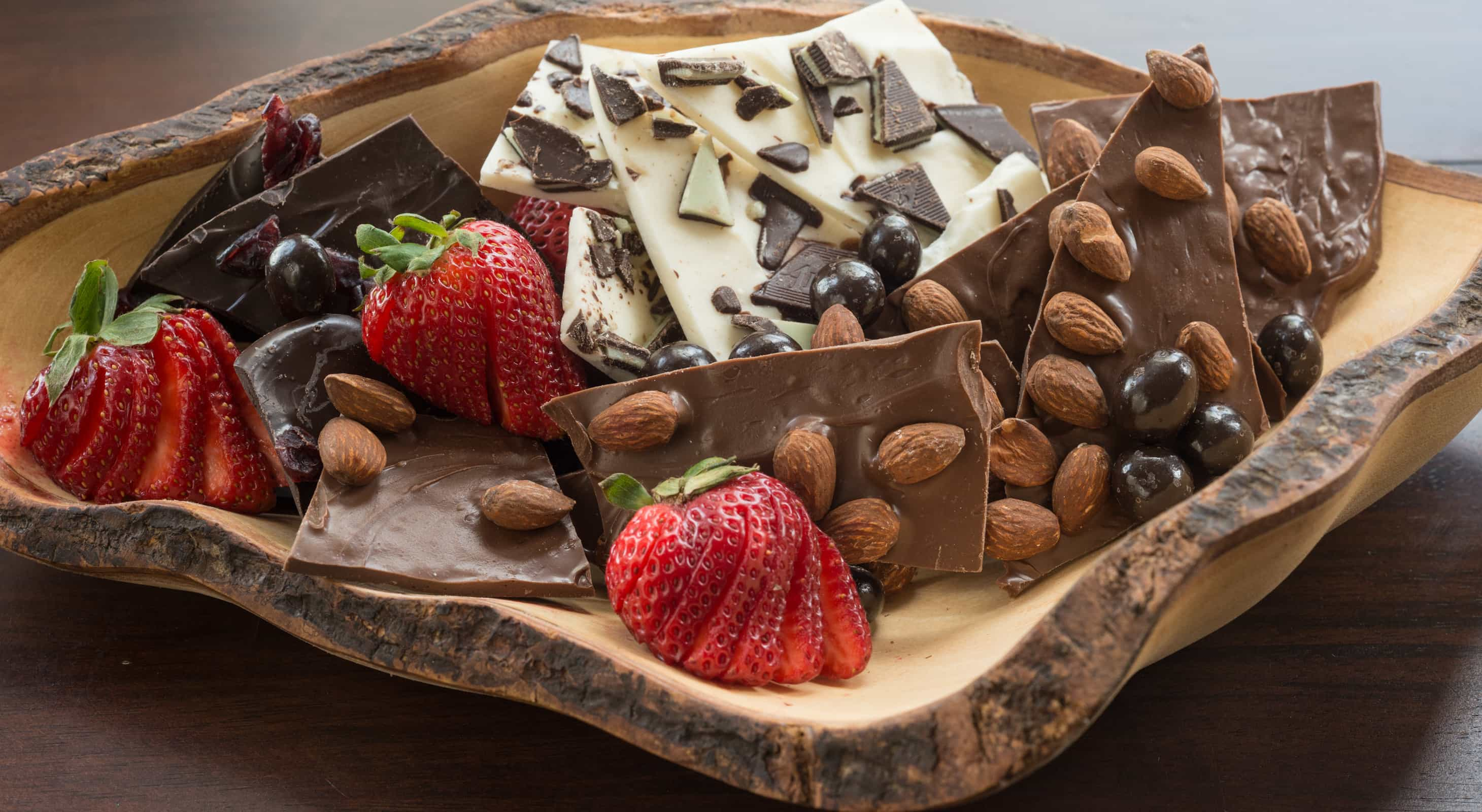 Handcrafted Chocolate Bark